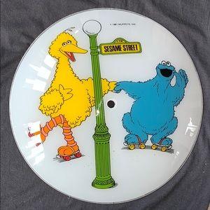 Vintage Sesame Street Light Shade 1981